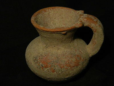 Ancient Teracotta Jug Bactrian 300 BC No Reserve #S2528