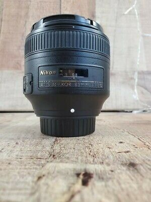 Nikon Nikkor 85mm f/1.8g af-s FX Lens Great Portrait Lens