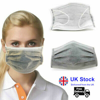 Disposable Surgical Face Mask 4ply for Virus & Flu Protection (Sealed Box of 50)