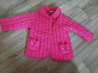 Baby girls United Colors of Benetton coat aged 6 - 9 months