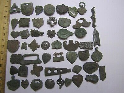 Ancient medieval fragment. Archaeology & Antiques medieval Europe (50artifacts)