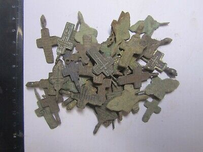 Ancient crosses  A mix of ancient finds. Metal detector finds
