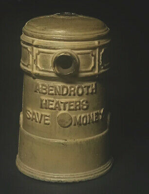 Antique Cast Iron still Bank Early 1900s ABENDROTH BROTHERS N.Y. GEM STOVE