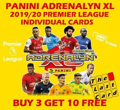 Panini Adrenalyn Xl 2019/20 Premier League Individual 289-360 Buy 3 Get 10 Free