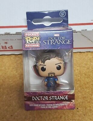 Funko Pocket Pop! Doctor (Dr) Strange Vinyl Keychain - Movie Version Marvel NEW