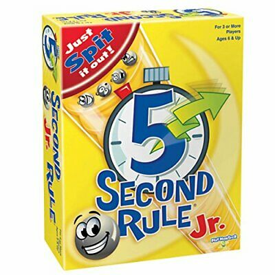 5 Second Rule Junior GAME NEUF
