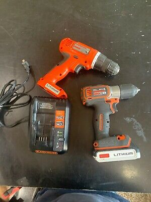 Black & Decker 20V Max BDCDE120 Drill Battery & Charger& Ld120