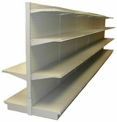 Gondola Shelving  Complete Sections Retail Store Aisle / Wall – Pick Size
