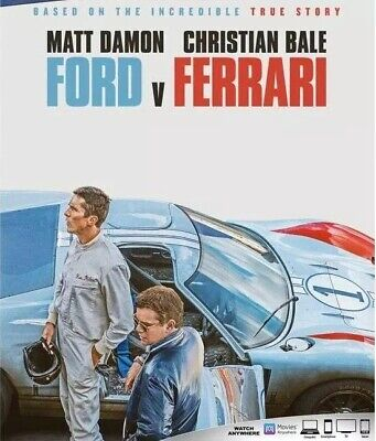 Ford v Ferrari Blu-ray Only, Please read