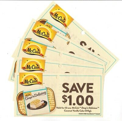 14x Save $1.00 on McCain Deep n Delicious Coups March 31 2020(Canada)