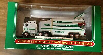 2009 HESS Truck Miniature Mini Space Shuttle Transport 12th Issue New in New Box