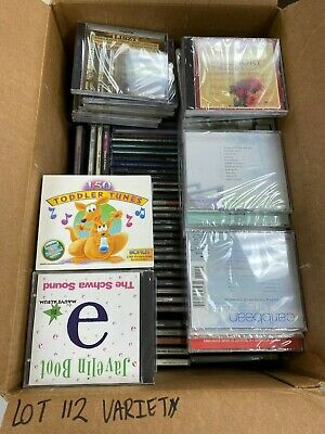 Qty 150 Brand New Cd Lot Great For Resellers No Duplicates /Lot 112