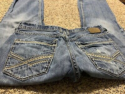 Bke Buckle Carter Boot Designer Men's Jeans Size 32X30
