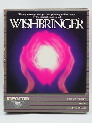 Infocom WISHBRINGER, 1985 for Amiga, New Old Stock. All contents included