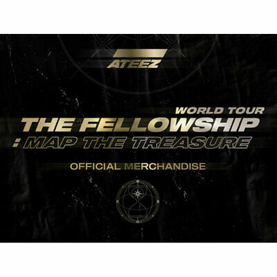 Ateez World Your The Fellowship:map The Treasure Official Merchandise