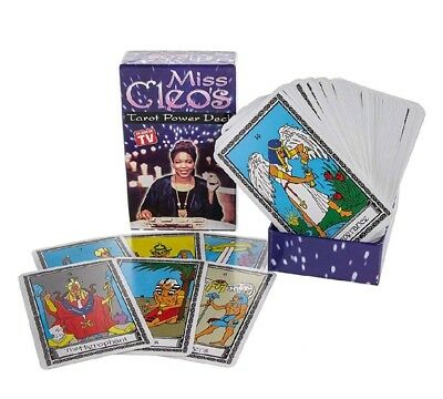 Miss Cleo's Tarot Power Deck Mytholigical Divinity Cards Fortune Teller Psychic