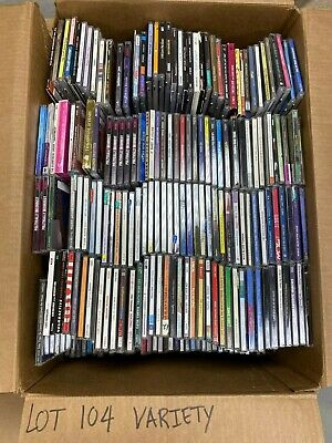Qty 274 Cd Lot Great For Resellers!!! (Lot 104)