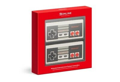 Nintendo Switch NES Controllers Pair - Official, Brand New, Sealed, OEM, Classic