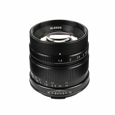 7artisans 55mm/F1.4 APS-C Manual Fixed Lens for Leica T Mount Like Leica T Le...