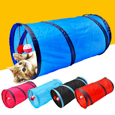 Foldable Pet Cat Tunnel Funny Play Tubes Kitten Puppy Rabbit Dog Training Toys