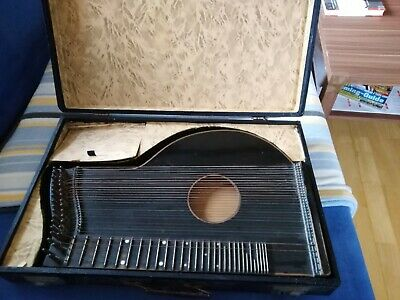 Zither mit Koffer
