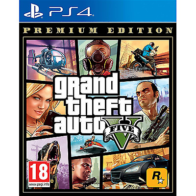 Grand Theft Auto V Premium Edition Ps4 (Gta V)