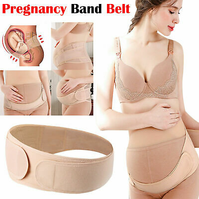 Pregnancy Maternity Waist Band Back Belly Lumbar Postpartum Support Belt Brace