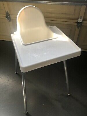 Ikea Antilope High Chair White