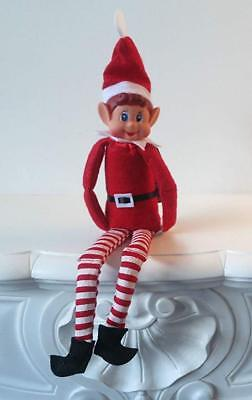 "12"" NAUGHTY ELF On a The Shelf Elves Behavin Badly Boy Christmas Girls Prop Toy"