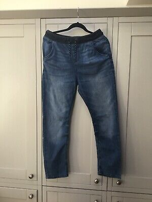 Next Boys Jeans Age 14 Height 164 Drawstring Waist Very Good Condition