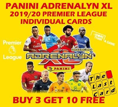Panini Adrenalyn Xl 2019/20 Premier League Specials 361-469 Buy 3 Get 10 Free