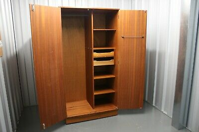 Vintage G Plan Fresco Teak Wardrobe retro Mid Century Furniture