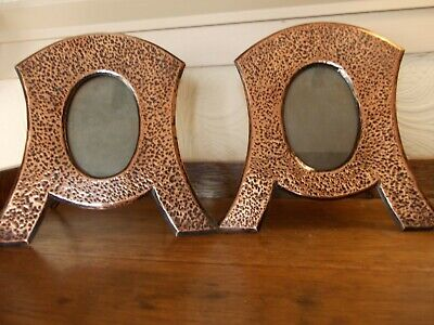 Pair of Arts & Crafts Copper Photo Frames.