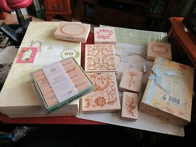 Anna Griffin Bundle – Wooden Stamps,Templates,Fantastic Flips Card Kit With Dies