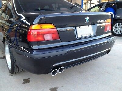 Rear M5 Look Bumper For BMW 5 series E39 Saloon ABS Plastic Brand New