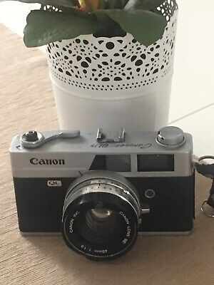 Vintage Canon QL19 Film Camera with Canon Lens SE 45mm f1.9 Spare & Repair