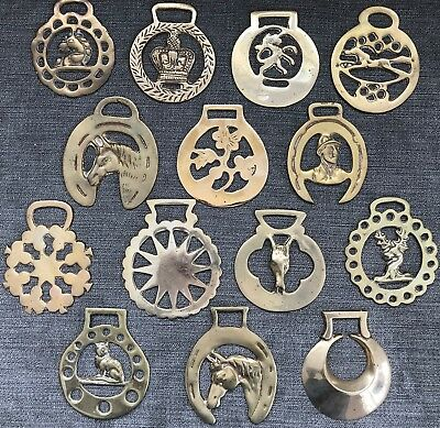 Antique Horse Brass Medallions Imported from England