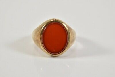 i81p12- 333er/ 8kt Gold Ring mit Karneol