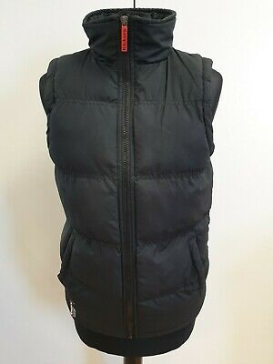 N484 Girls Kickers Black Puffer Quilted Bodywarmer Gilet Age 14-15 Years