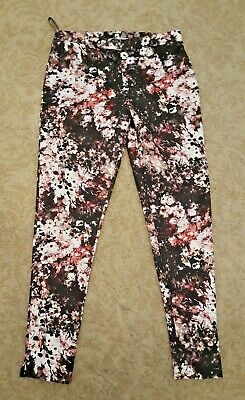 Warehouse woman's  LEGGINGS  - jegging -   size 10- floral multi - new