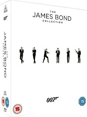 James Bond 24 Complete Film Collection Blu Ray Box Set New Sealed Inc Spectre
