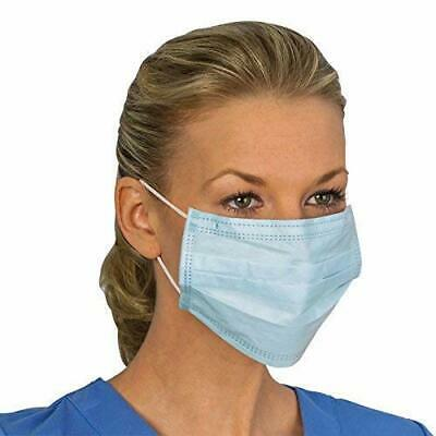 50x Face Medical 3-Ply coronavirus. Disposable Dental Industrial Dust mask