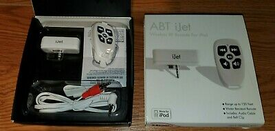 ABT iJet Wireless RF Remote Made For iPod