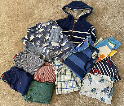 Boys Clothing Bundle 3-4years (Joules, Mini Boden, Crew, Little Bird)