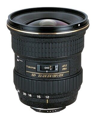 Tokina AT-X 124 PRO DX 12-24mm F4 wide angle zoom for NIKON Digital SLR Camera