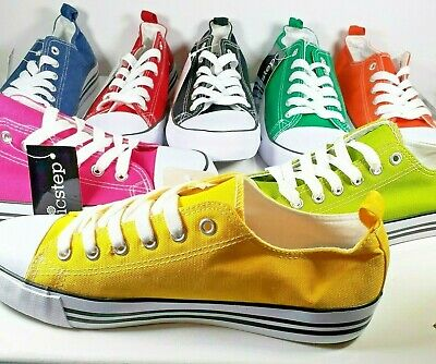 New Epic Step Womens Sneakers  Lime, Red, Black, Blue. Yellow Pink, Orange Green