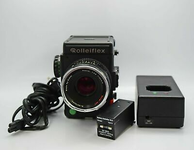 Rollei 6001 Professional + Planar 80mm F2.8 HFT PQ Lens-120 Film Holder, Charger