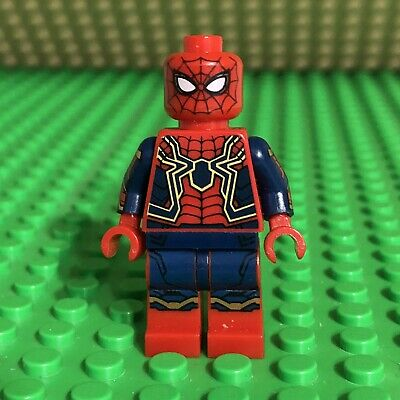 LEGO Super Heroes Marvel Iron Spider-man Minifigure From Set 76108 - sh510