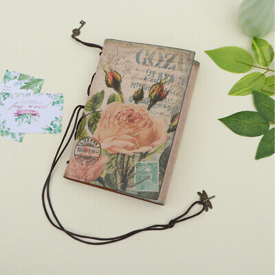 1PC PU Leather Notebook Europear Style Retro Diary Journal Notepad for Traveler