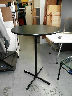 Office Tall 750Mm Round Bar Table Brisbane